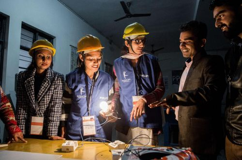 "Skilling India: ""I can't handle the community but I can fix their electricity."""